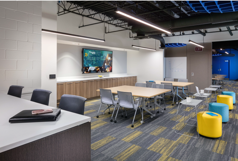 Georgia Tech Living Learning West Commons