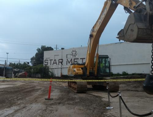 Groundbreaking at Star Metals!