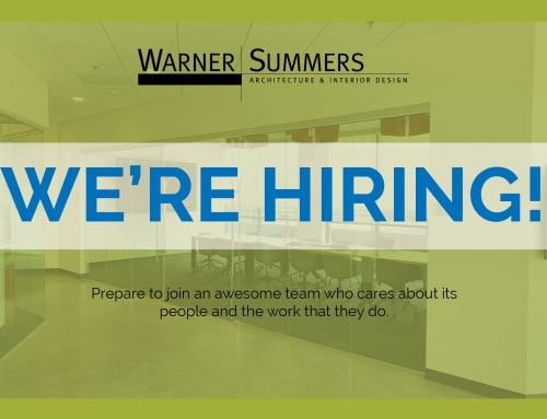 Warner Summers is HIRING!